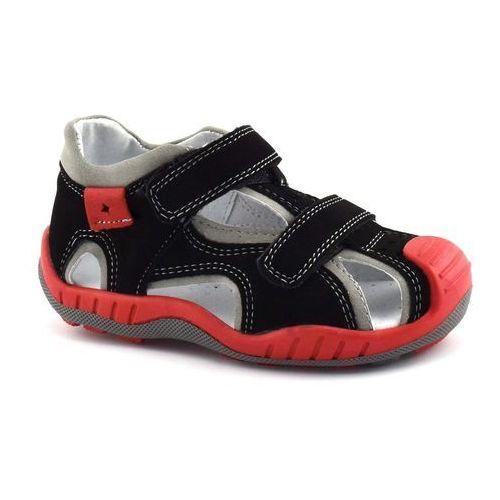 Sandały dla dzieci 04955 czarne marki Kornecki