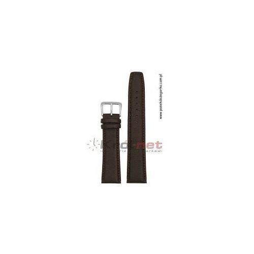 Alfa Pasek pa013/12xl - ciemny brąz, long