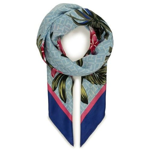 Chusta TOMMY HILFIGER - Tropical Monogram Square AW0AW06785 423