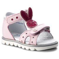 Sandały BARTEK - 31491/1FR Różowy, kolor różowy