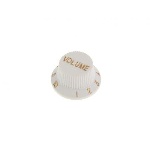 Boston KW-240 gałka potencjometru Volume typu Strat, biała
