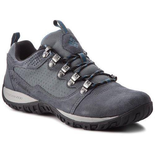 Trekkingi COLUMBIA - Peakfreak Venture Low Suede BM2814 Graphite/Phoenix Blue 054, kolor szary