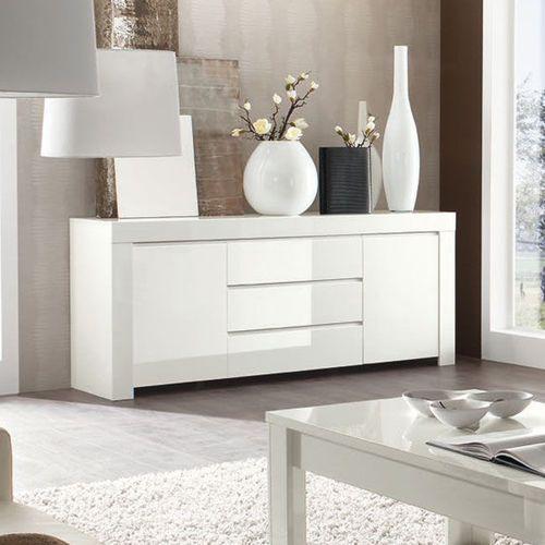 Amaretto biała włoska lakierowana komoda 2d 3s marki Fato luxmeble