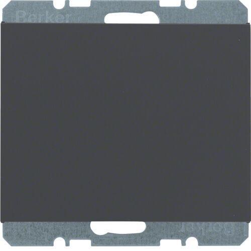 BERKER K.1 Zaślepka z płytką czołową, antracyt mat, lakierowany 10457006 (4011334297765)
