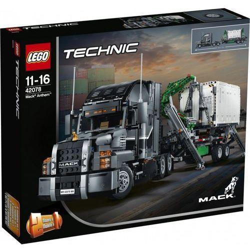 Lego TECHNIC Mack anthem mack anthem 42078. Najniższe ceny, najlepsze promocje w sklepach, opinie.