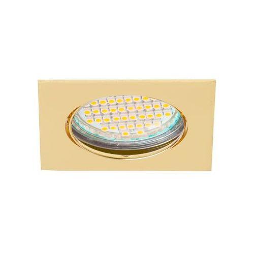 Superled Oprawa oprawka led halogenowa ruchoma kwadratowa kolor złoty OHK15 7021, 7021
