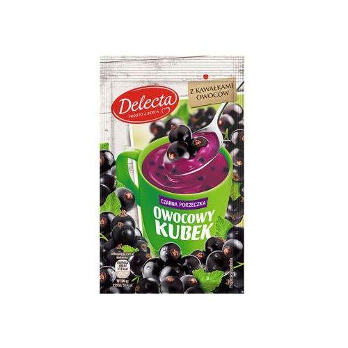 Delecta 30g owocowy kubek kisiel smak czarna porzeczka (5900983001733)