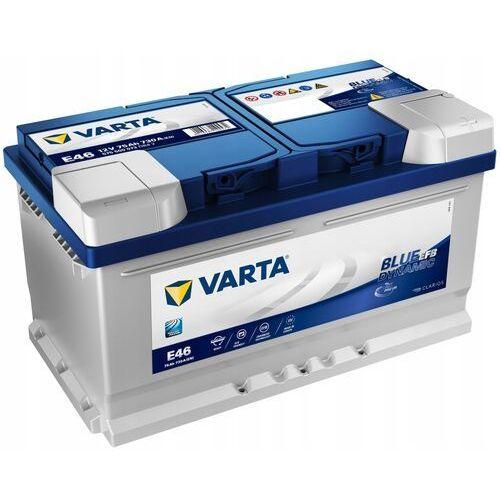 Akumulator VARTA Blue Dynamic EFB E46 75Ah 730A (EN)