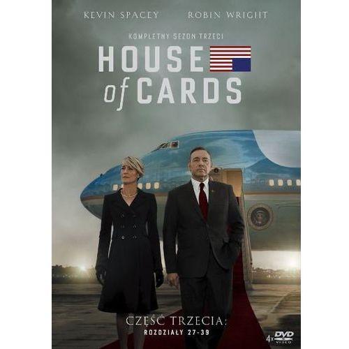 Imperial cinepix House of cards. sezon 3 (dvd) - beau willimon darmowa dostawa kiosk ruchu (5903570158056)