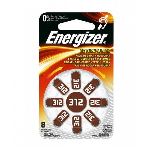Energizer Bateria słuchowa zinc 312 /8 szt. blister
