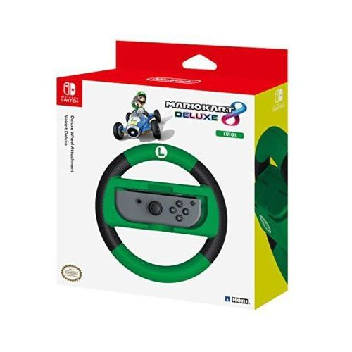 Nakładka na kontroler nsw-055u joy-con wheel deluxe - luigi do nintendo switch marki Hori