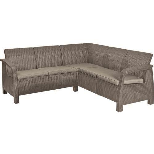 KETER sofa ogrodowa CORFU RELAX cappuccino (3253928059019)