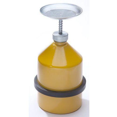 Denios Oszczędny nawilżacz, blacha stalowa, kolor żółty, poj. 2 l. z blachy stalowej. d