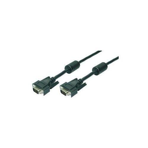 Kabel VGA LogiLink CV0003 VGA 2x Ferryt, 5m, CV0003