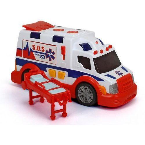 Dickie, ambulans biało-czerwony, pojazd