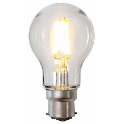 Żarówka LED B22 A55 2,4W poliwęglan, przezroczysta