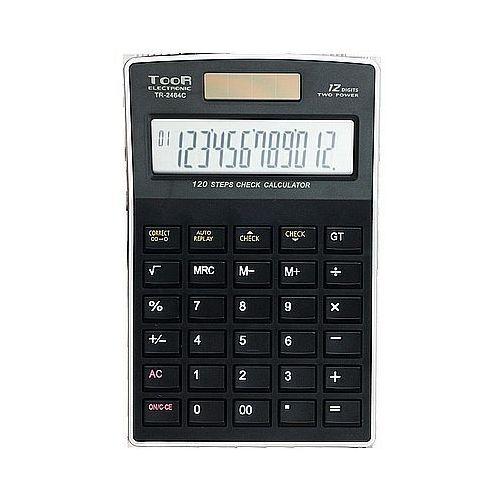 Toor electronic Kalkulator toor tr2464c 12 pozycyjny funkcja sprawdzania