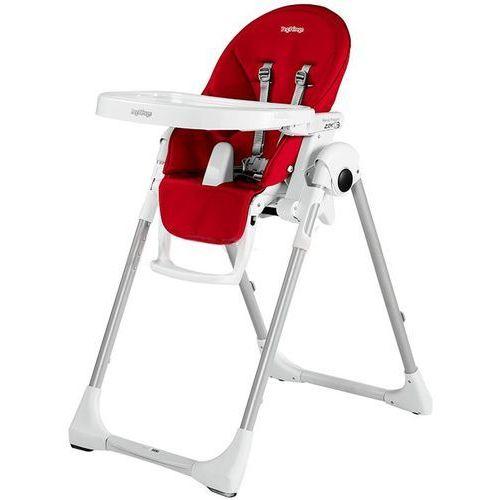 Peg-perego krzesełko do karmienia prima pappa zero3 fragola (imitacja skóry) (8005475359747)