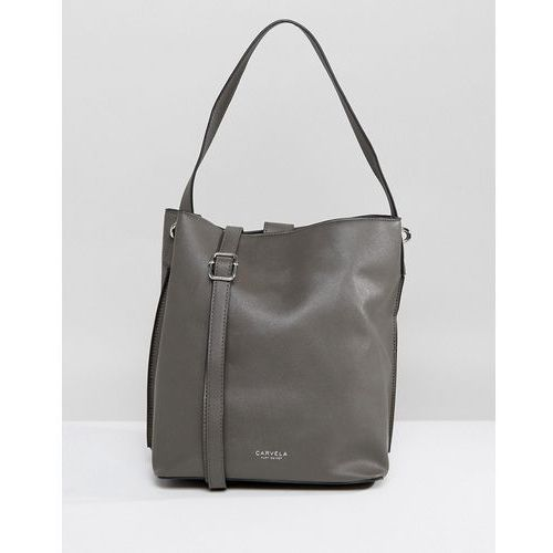 Carvela rita shoulder bag - grey