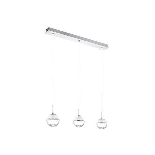93784 - lampa wisząca montefio 1 led 3x5w/230v, marki Eglo
