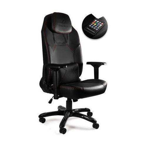 Fotel gamingowy Unique DYNAMIQ V9 z głośnikami i podświetleniem LED - ZŁAP RABAT: KOD100