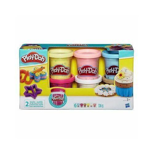 Hasbro Play doh ciastolina konfetti z 6 tubami b3423