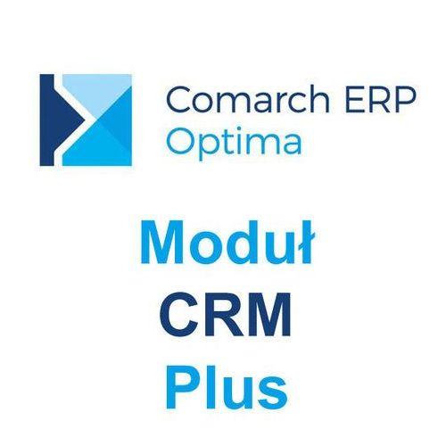 Comarch erp optima moduł crm plus marki Comarch s.a.