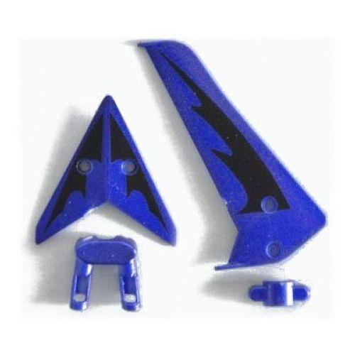 S107 -03 Tail Decoration Blue - Stateczniki Ogona Niebieskie, s107-03 niebieskie