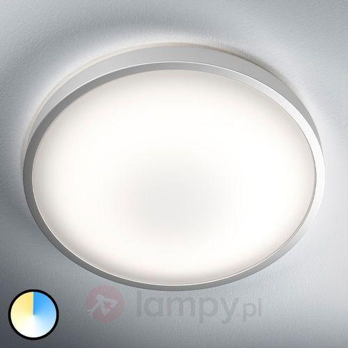Lampa sufitowa LED Silara, zmiana barwy światła