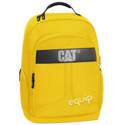 Plecak na laptopa Caterpillar Colegio - yellow, kolor yellow