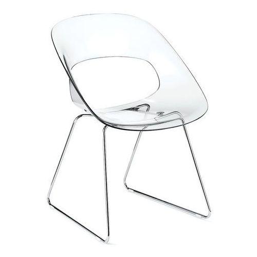 Krzesło konferencyjne na płozie TRIBECA- W