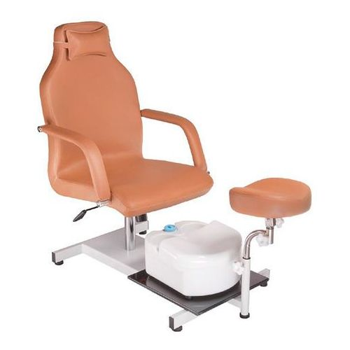 Fotel do pedicure z masażerem stóp bd-5711 beżowy wyprodukowany przez Beauty system