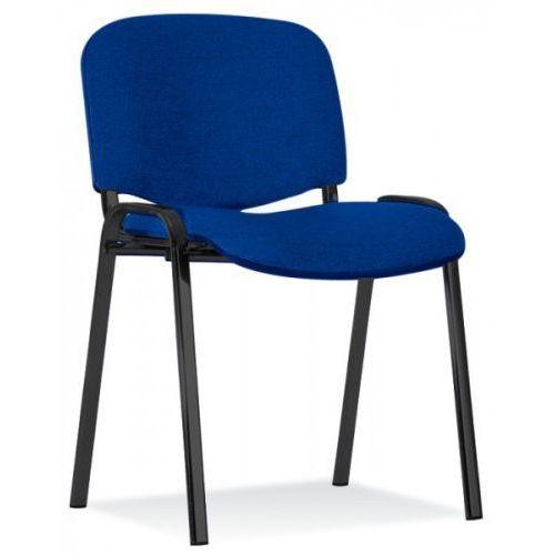 Krzesło iso czarne 20 szt paleta marki Nowy styl