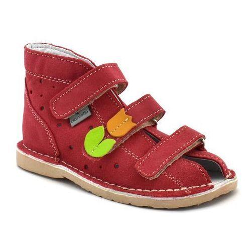 Dziecięce buty profilaktyczne t125/135 malina marki Danielki
