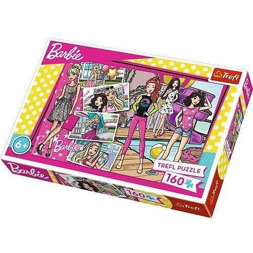 Trefl Puzzle 160 modna barbie (5900511153620)
