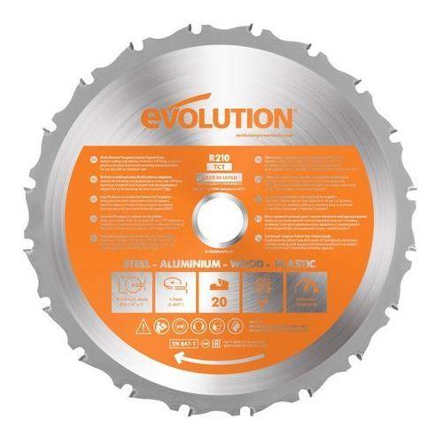 Tarcza uniwersalna Evolution 210 mm (0849713072122)