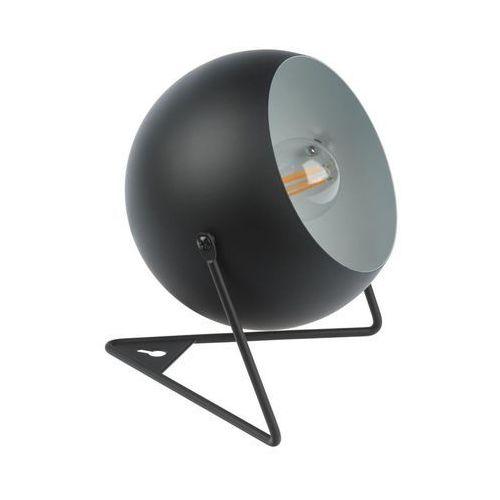 Lampa stołowa bari czarna e14 marki Inspire