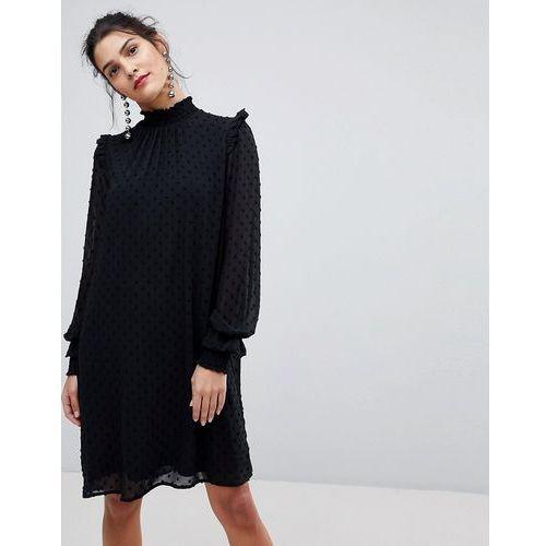 chiffon high neck dress - black, Y.a.s, 34-36