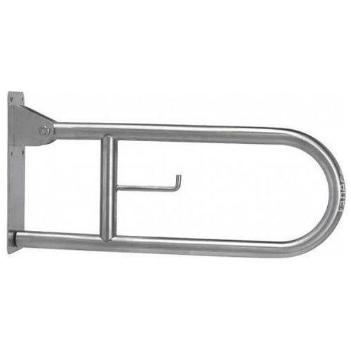 Poręcz uchylna łukowa dla niepełnosprawnych s32uuwc8p sn m 80 cm marki Faneco