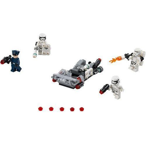 Lego STAR WARS Śmigacz transportowy najwyższego porządku first order transport speeder battle pack 75166