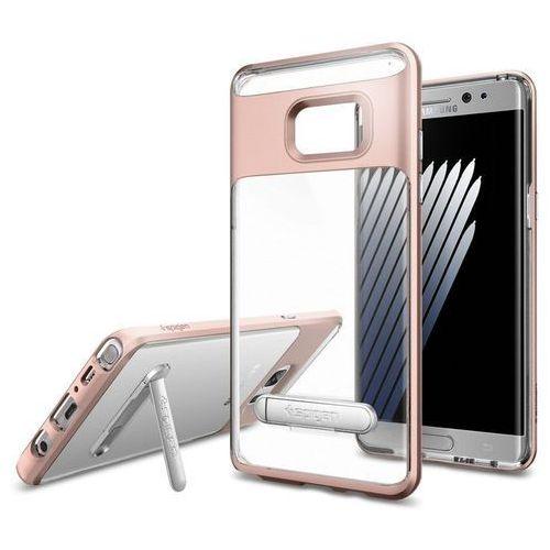 Obudowa SPIGEN SGP Crystal hybrid Samsung Galaxy Note 7 Różowy - Różowy