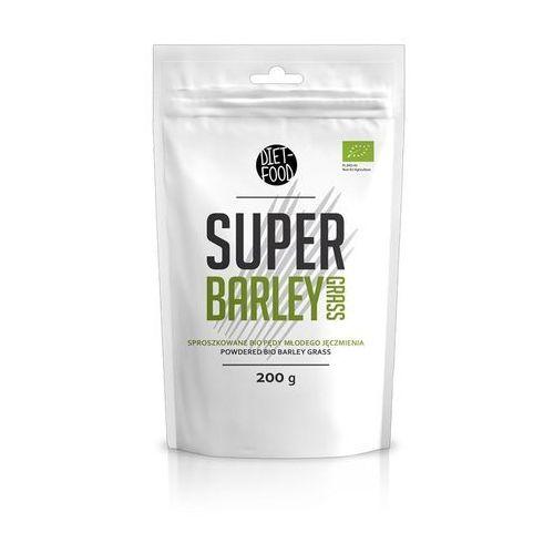 DIET-FOOD Bio Super Pędy Jęczmienia 200g (5901549275322)
