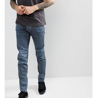 G-star tall 5620 3d slim jeans dark grey overdye - grey