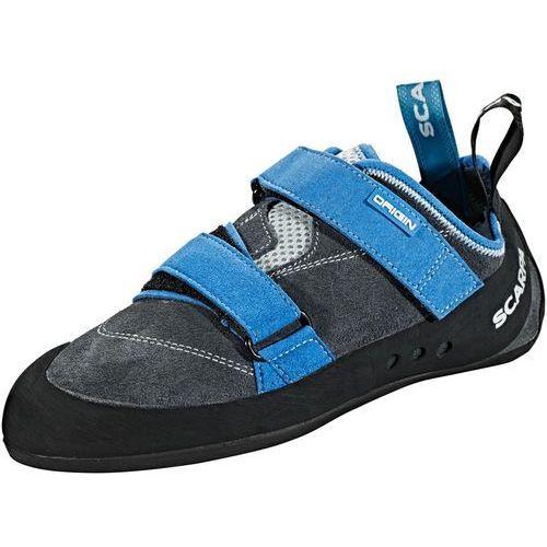 origin but wspinaczkowy szary/niebieski 38 2018 buty wspinaczkowe na rzepy marki Scarpa