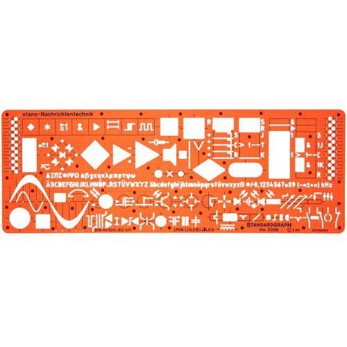 Szablon elektryczny - komunikacja x1 marki Szablony techniczne
