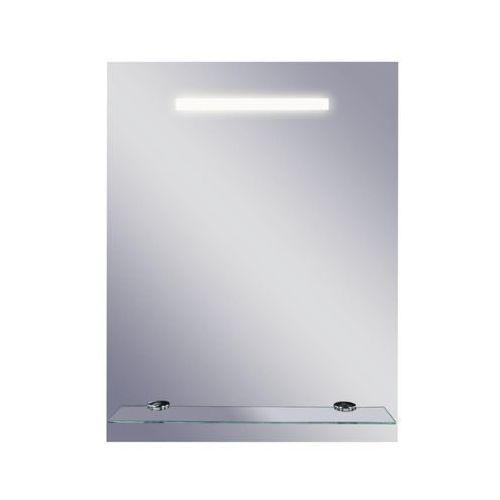 Dubiel vitrum Lustro łazienkowe z oświetleniem wbudowanym linea ii 50 x 65 (5905241001968)