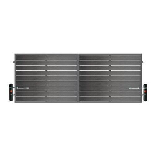 Brama z automatem Elba 400 x 150 cm ocynk antracyt (5903641450195)