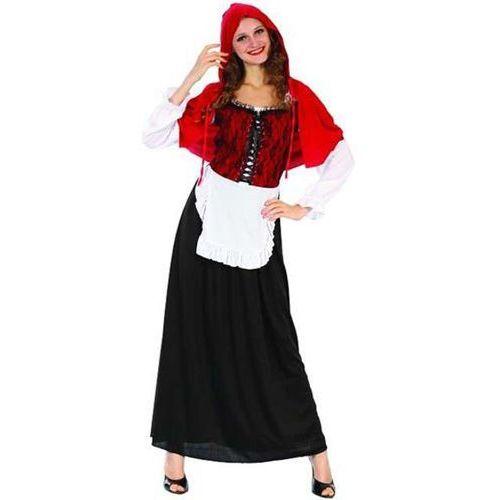 """Godan Strój dla dorosłych """"czerwony kapturek - długa spódnica"""", rozm. 42"""