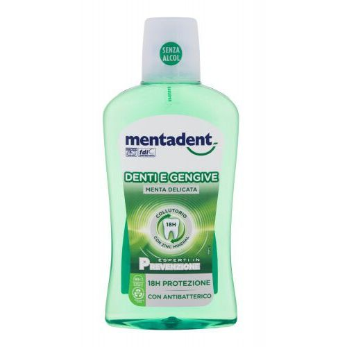 Mentadent Teeth and Gums Mint płyn do płukania ust 500 ml unisex (8000630046203)