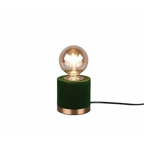 Trio RL Judy R50691015 lampa stołowa lampka 1x40W E27 zielona/brązowa (4017807481082)